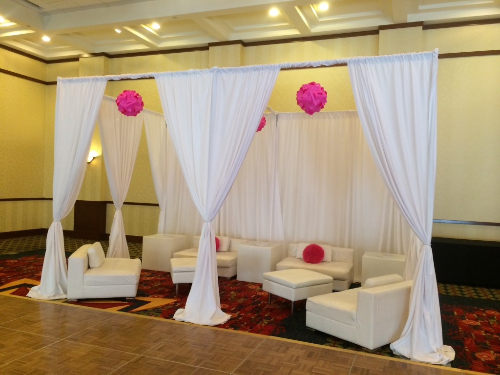 Small VIP Sections: Lounge Decor Event Planning and Lounge Decor NJ
